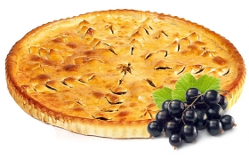 Пирог со смородиной